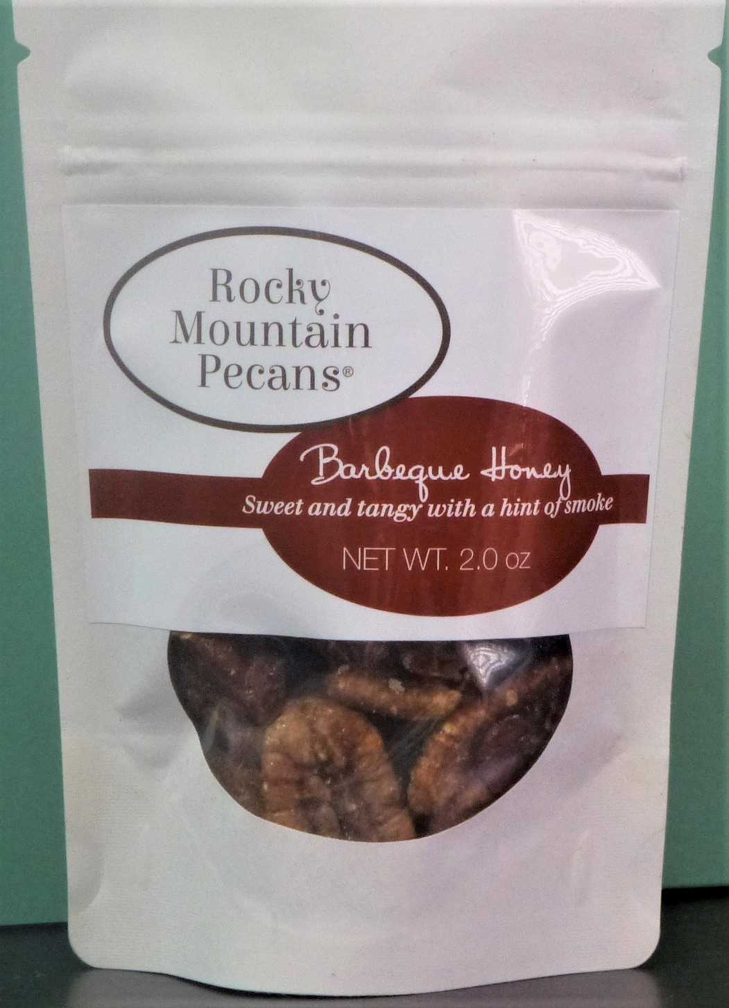 Barbecue Honey Roasted Pecans