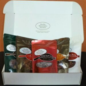 Gift box with 5 flavors of pecans